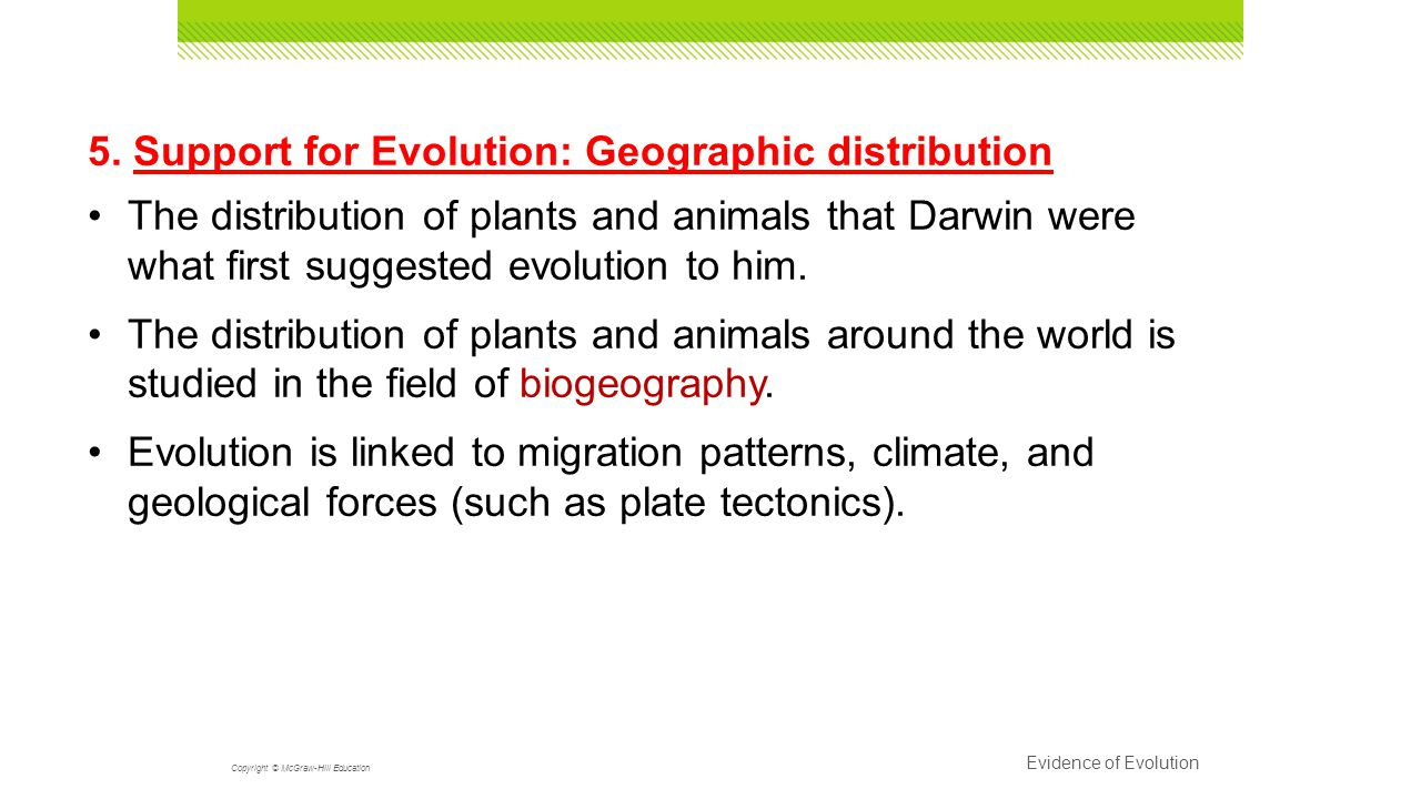 Unit 10 History of Biological Diver PAP Evolution Darwin s