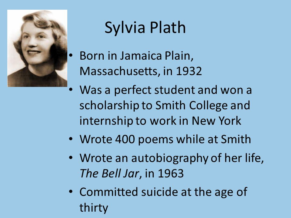 esthers motives for suicide in the bell jar by sylvia plath Events leading up to her own suicide plath views the world  the 1950s shown in sylvia plaths the bell jar  esthers resistancepeople embody.