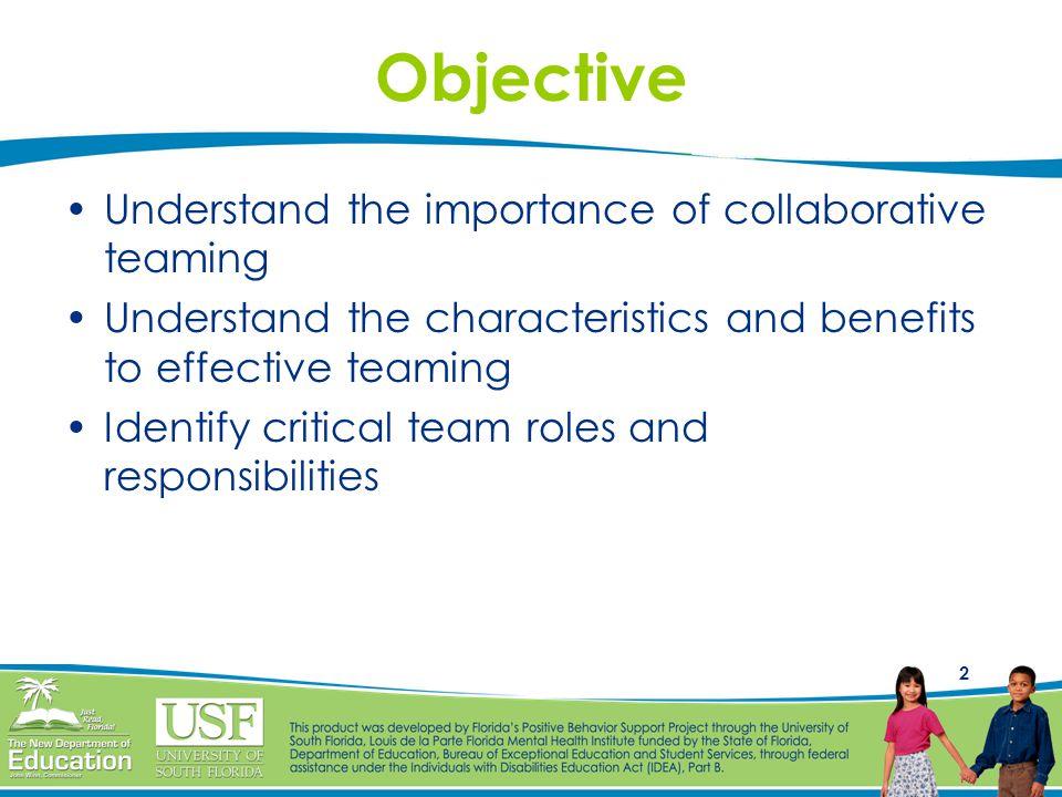 Collaborative Classroom Benefits : Maximizing effectiveness using positive behavior support