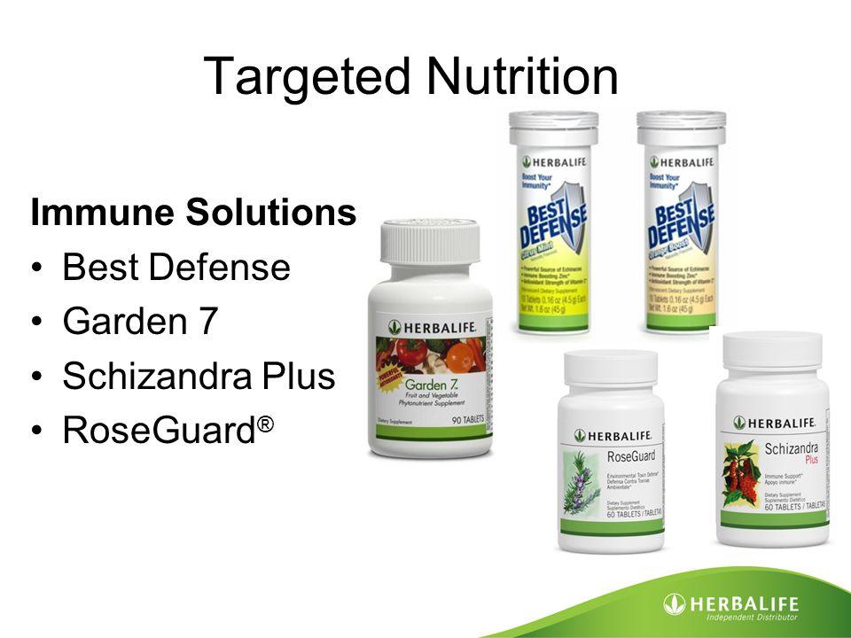 Targeted Nutrition Immune Solutions Best Defense Garden 7