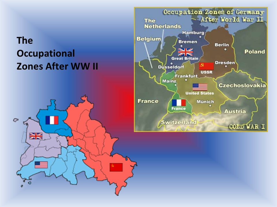 The Occupational Zones After WW II