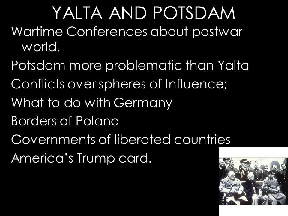 postdam y yalta