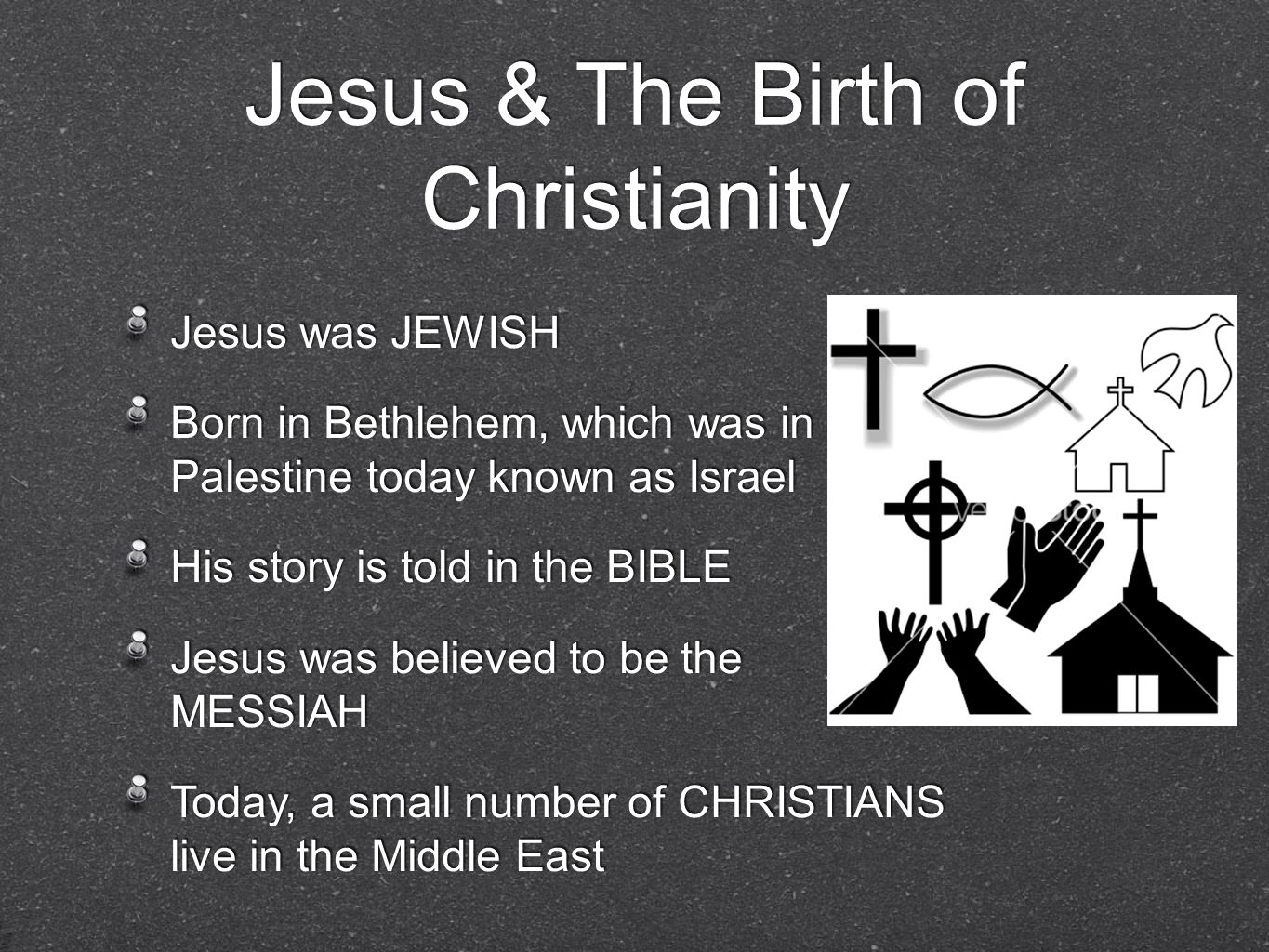 Jesus & The Birth of Christianity
