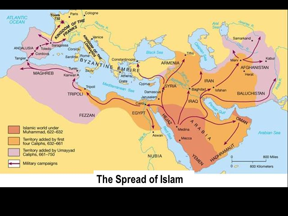 srpead of islam The history of the spread of islam, islam and its main dynamics.