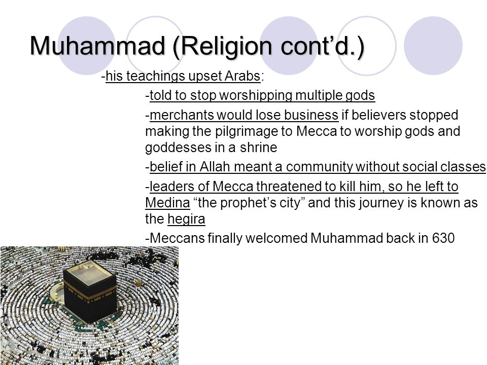 the leadership of prophet muhammad religion essay In 605 ce, muhammad honored all the meccan clan leaders and set the black  stone  the quran, the central religious text in islam, alludes to muhammad's life.