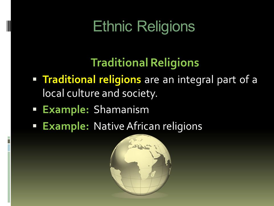 influence of religion on african culture African traditional religion still exercises a strong influence over africans, who are  naturally religious  in order to respond to the question, what new things does.