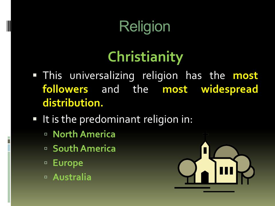 Advanced Placement Human Geography Ppt Video Online Download - Which religion has most followers