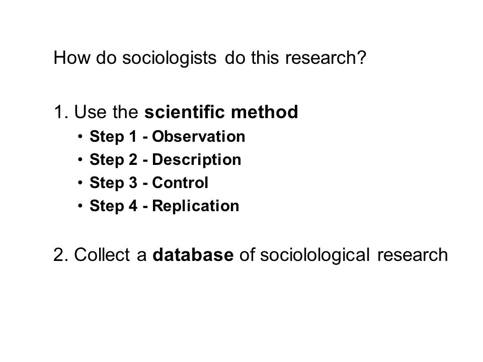 (PDF) Considerations on the 'Replication Problem' in Sociology