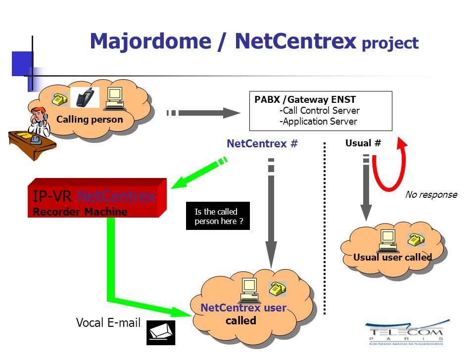Majordome / NetCentrex project