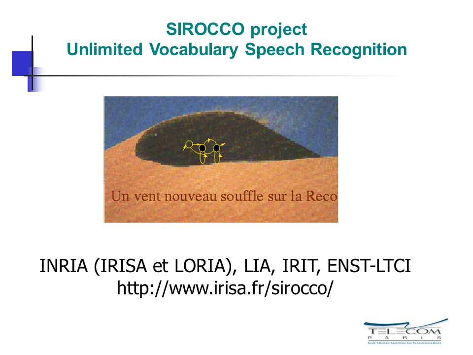 Unlimited Vocabulary Speech Recognition