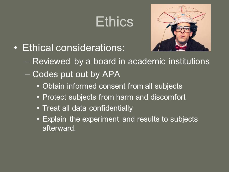 ethical guidelines psychology animal research