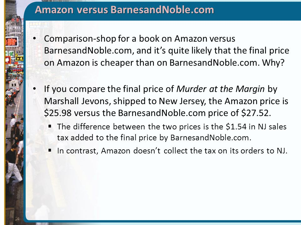 barnes noble vs amazoncom essay Free essay: msc management (ft) strategic management (2007) assignment case analysis: leadership online: barnes & noble vs amazoncom answer all three.