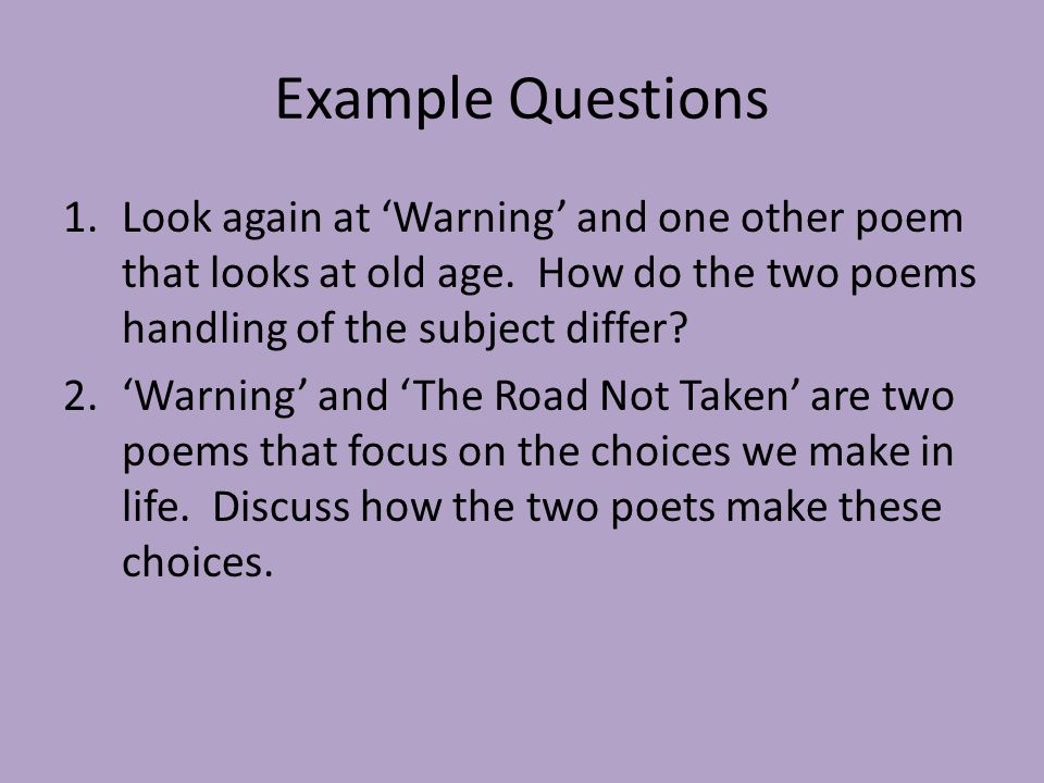 "discuss how the two poems ''do Patterns emerging these patterns may relate to the diction of the poem: does the poet  forms have and discuss how the poet uses the ""rules"" is the title an."