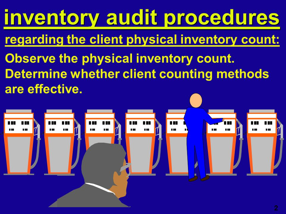 Inventory audit cycle irregularities