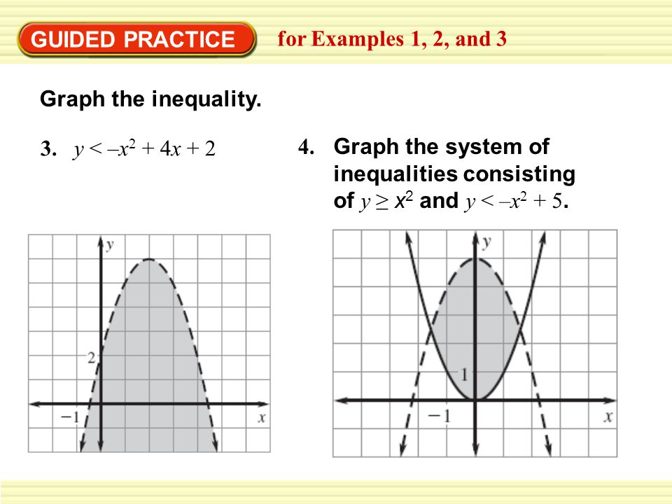 Graphing systems of linear inequalities practice worksheet
