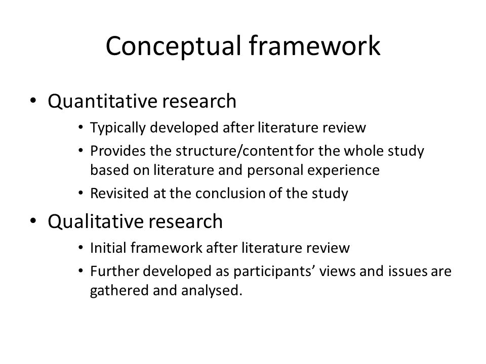 what is the conceptual framework of a research paper Conceptual framework vs theoretical framework conceptual framework and the theoretical framework of their thesis, a required section in thesis writing that serves as the.