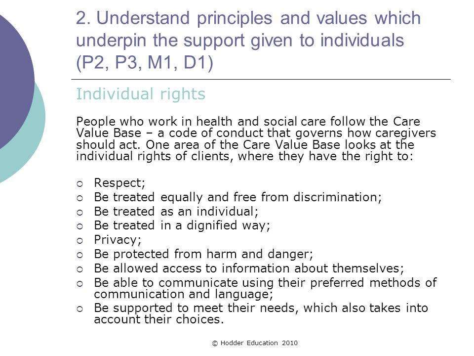 Defining the Different Types of Discrimination in Health and Social Care