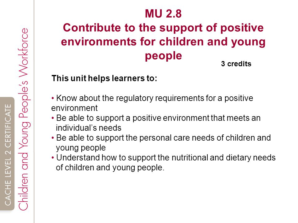 unit mu 2 4 contribute to children Constipation and soiling are common health problems in children it occurs in 3 to 4 of every 100 children at the preschool age and 1 to 2 of every 100 children at.