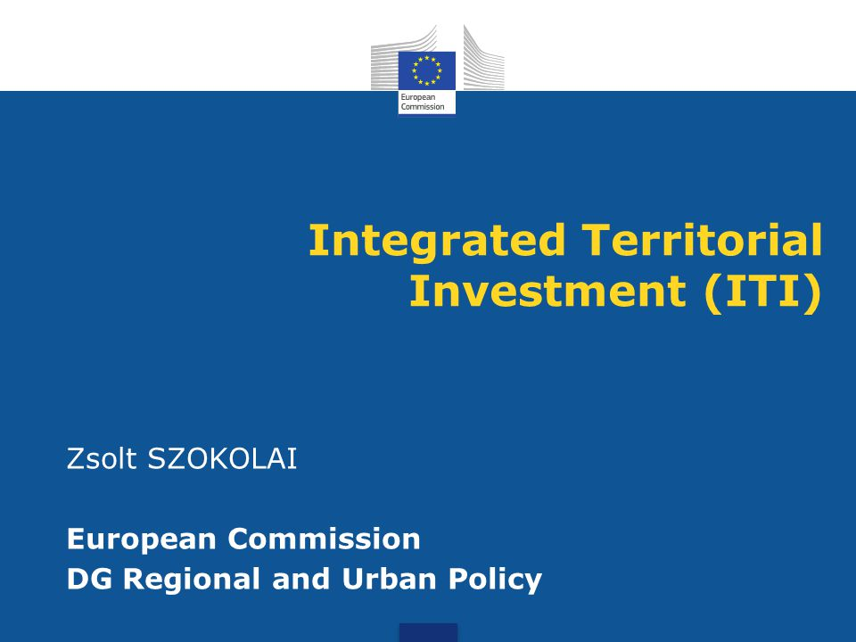 Integrated Territorial Investment (ITI)