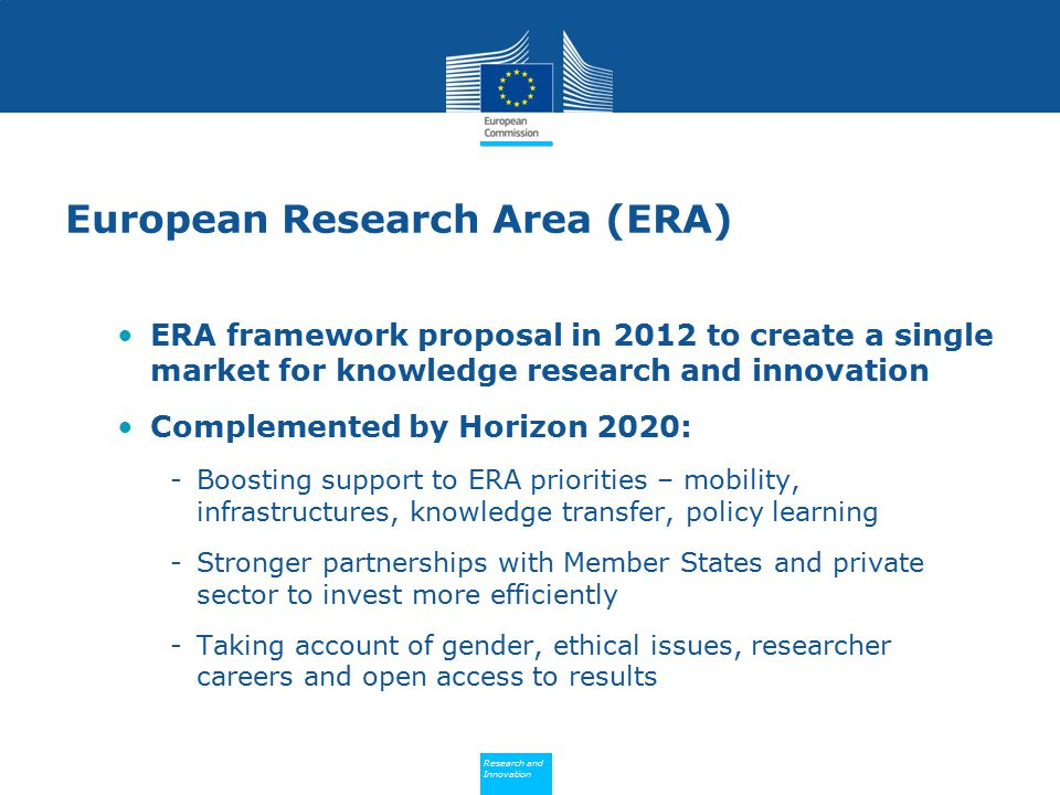 European Research Area (ERA)