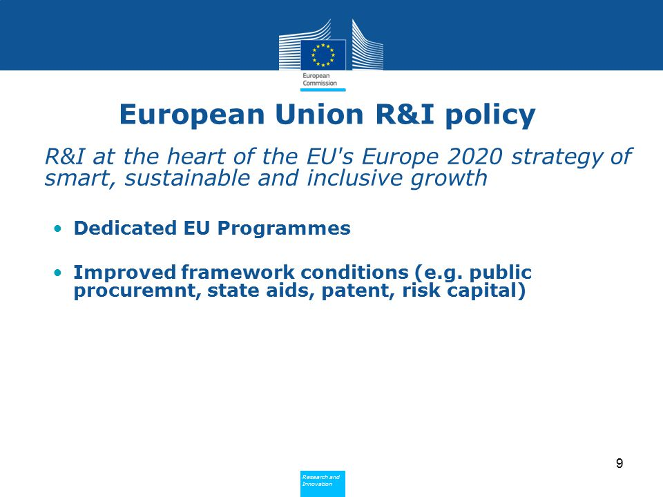 European Union R&I policy