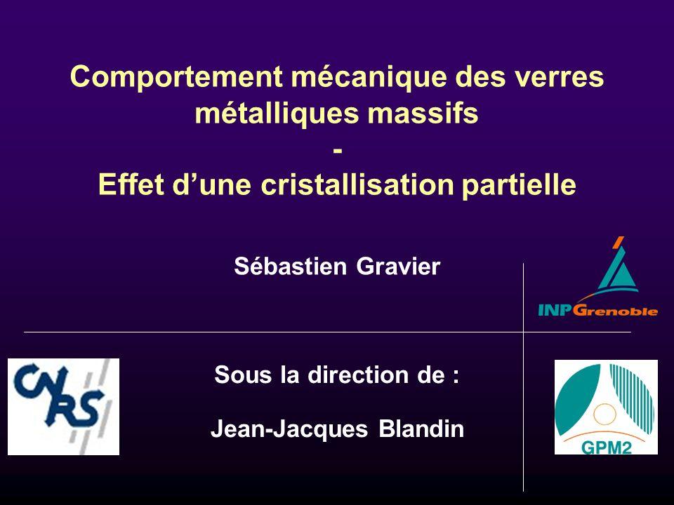 Sous la direction de : Jean-Jacques Blandin