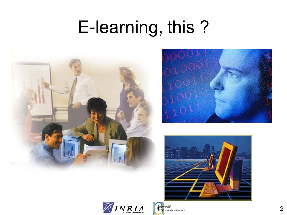 E-learning, this