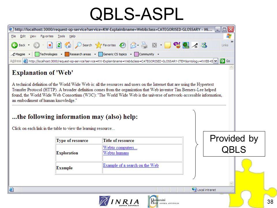QBLS-ASPL Provided by QBLS