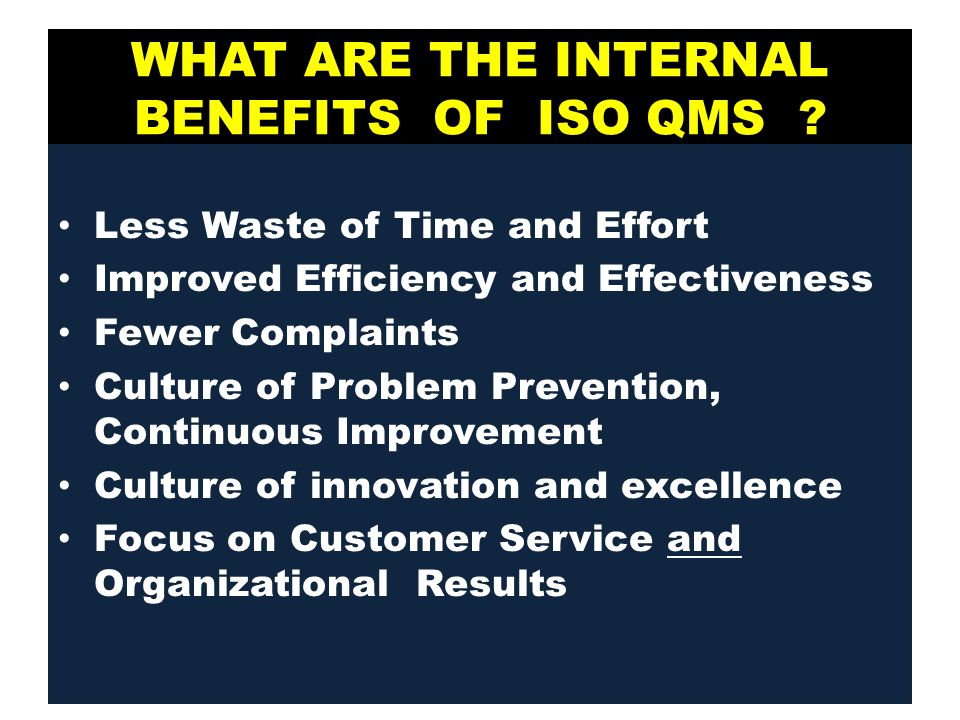 Understanding The Iso 9001 Qms Up Manila 24 November Ppt
