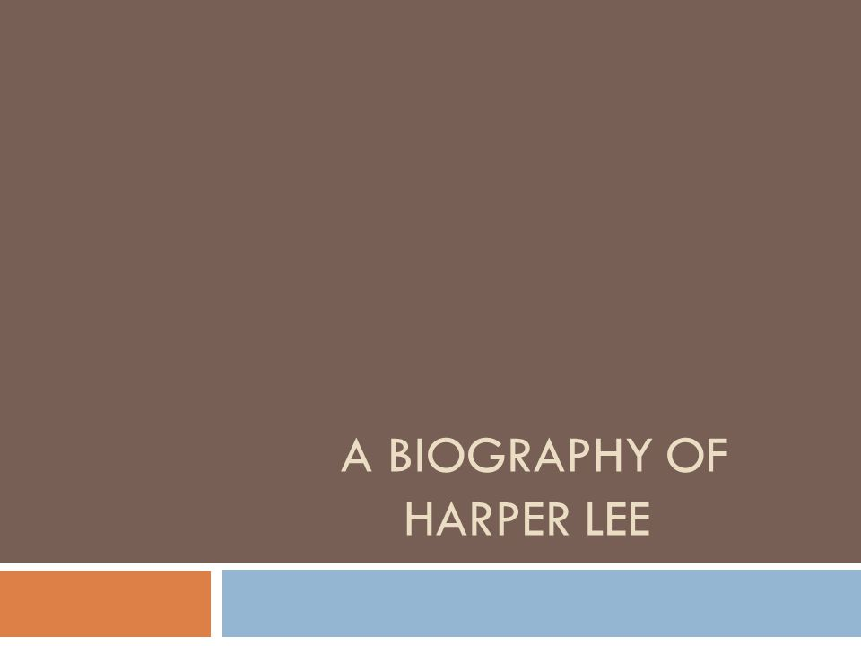 a biography of nelle harper lee 'mockingbird' author harper lee dies harper collins publishers released a commemorative edition of lee was born nelle harper lee on april.
