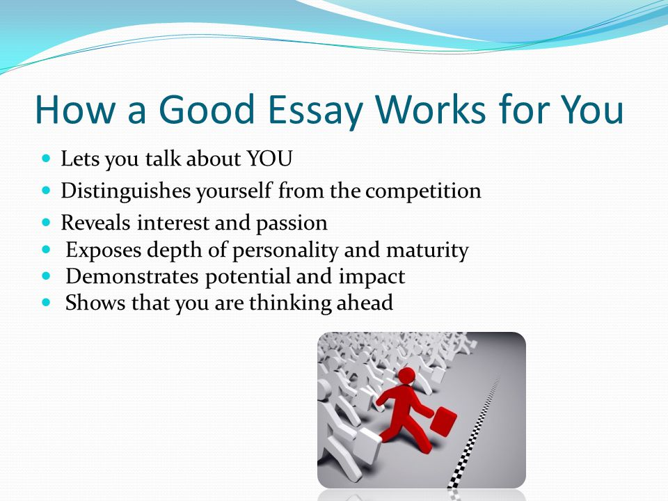 how can write a good essay Writing a good essay about cause and effect is easier than it might seem it follows a pattern that is very logical and once you create the outline the essay can.