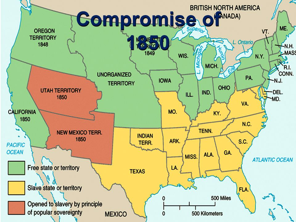 The 1850s: Road to The...