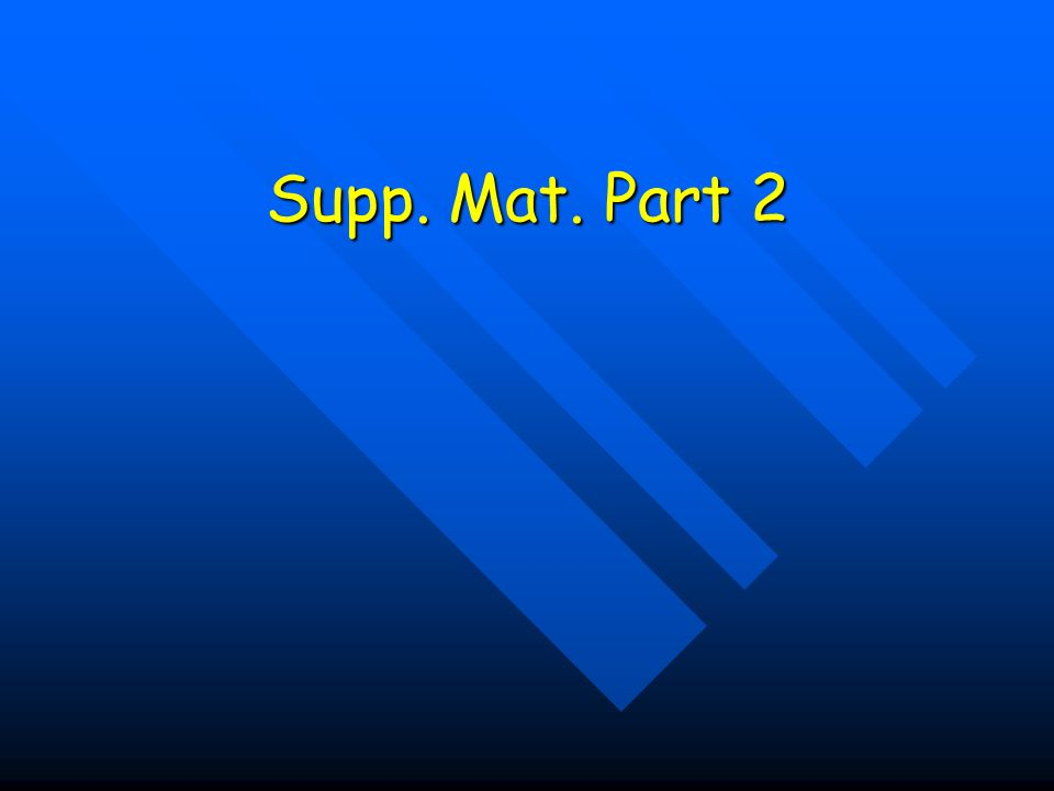 Supp. Mat. Part 2