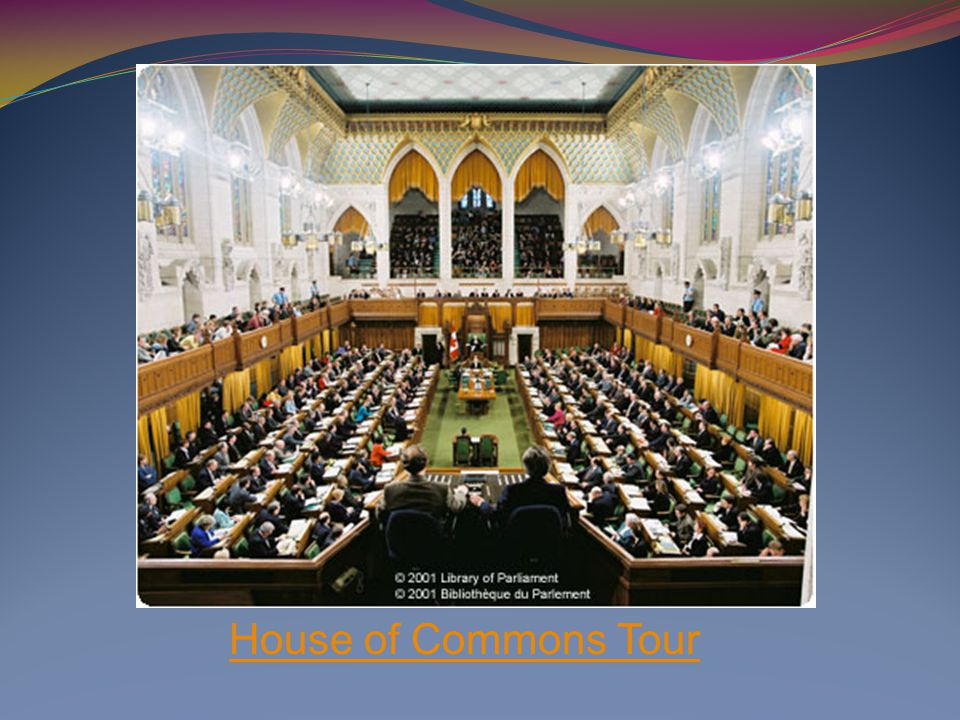 House of Commons Tour