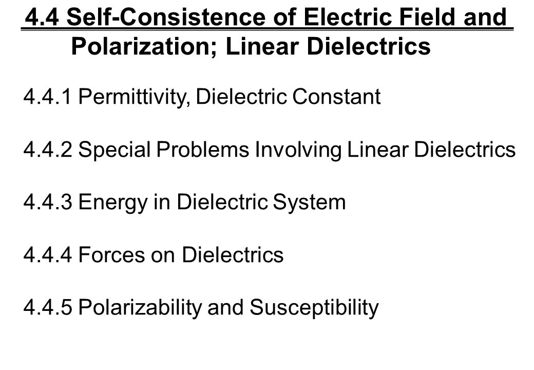 electric susceptibility and dielectric constant pdf