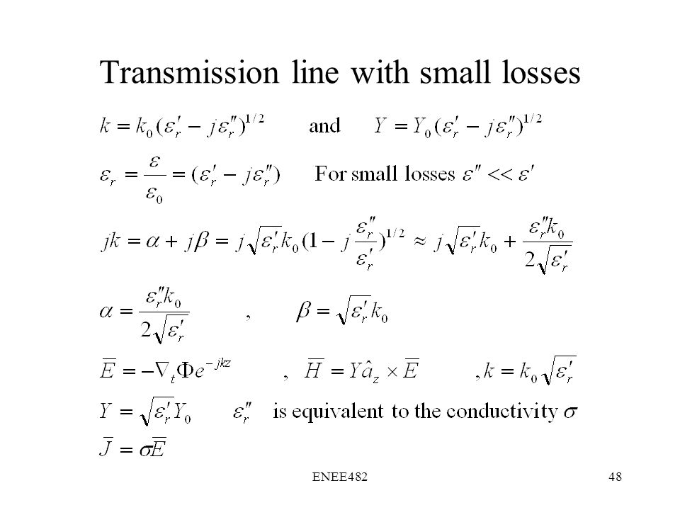 losses in transmission line pdf