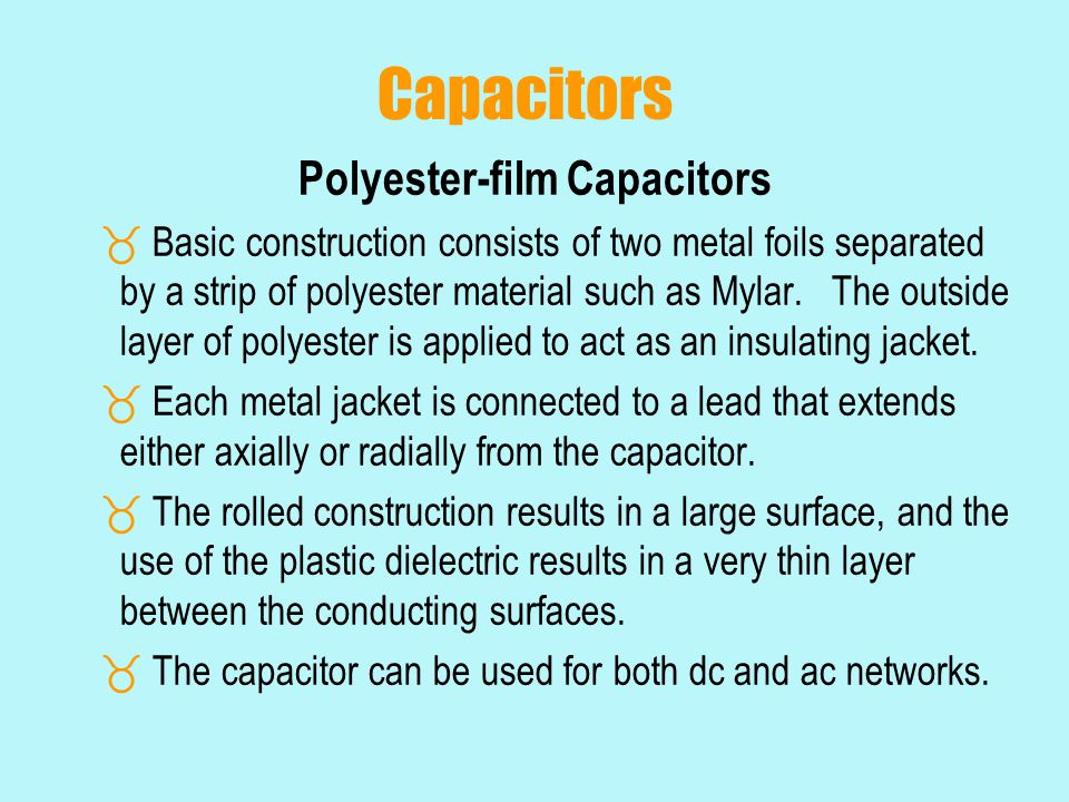 Polyester-film Capacitors
