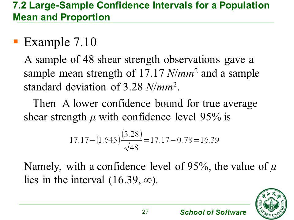 Chapter 7. Statistical Intervals Based on a Single Sample - ppt ...