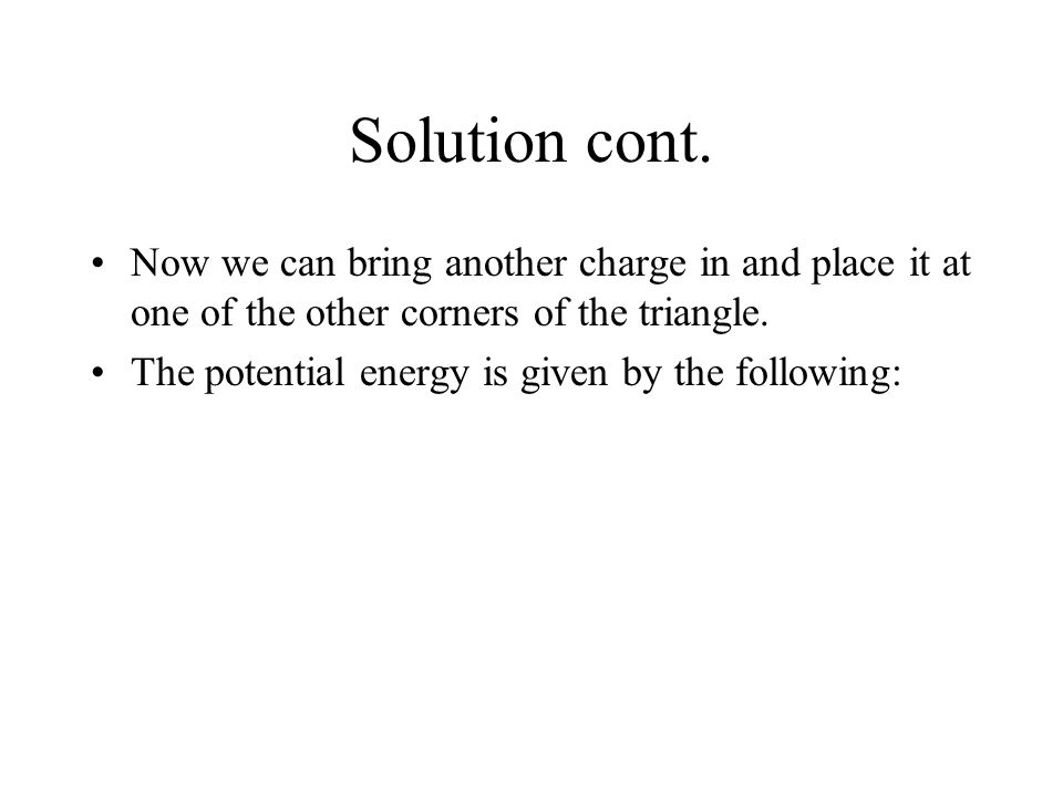 potential energy and solution Chapter 4 solution theory in the first chapters we dealt primarily with closed systems for which only heat and work energy as g(t,p) in solutions.