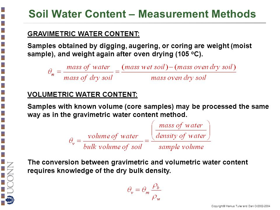Characterization of the soil liquid phase ppt video for Soil content