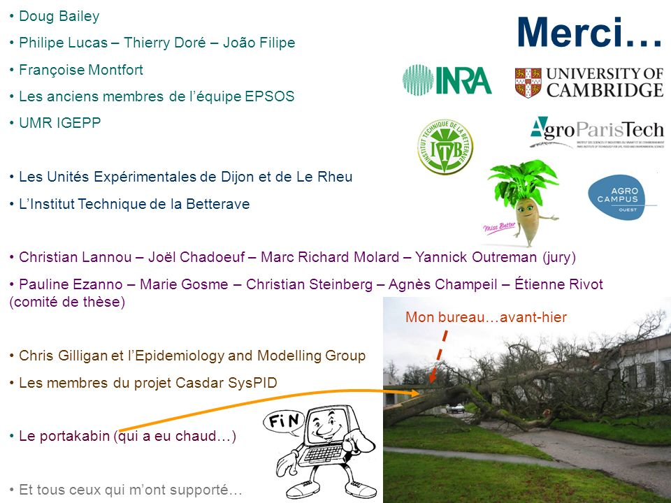 Merci… Doug Bailey Philipe Lucas – Thierry Doré – João Filipe