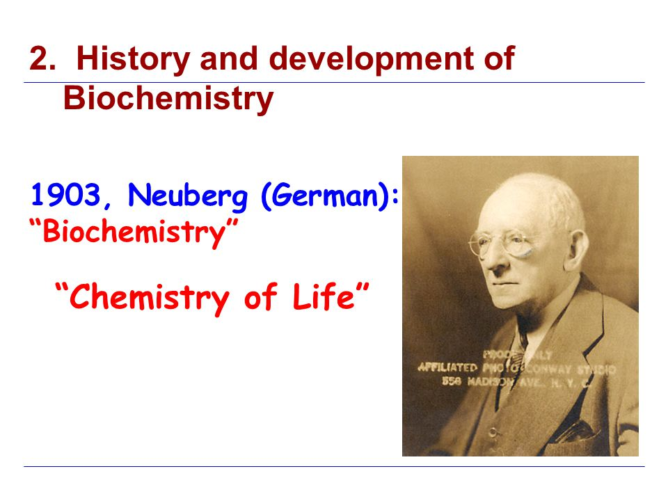 Biographies of Chemists