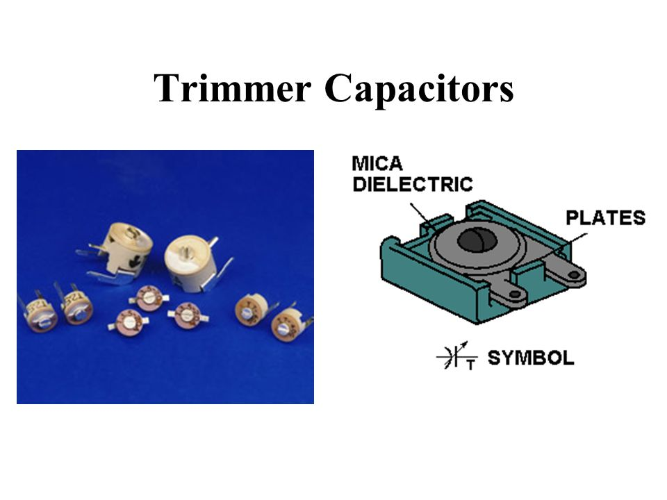 Trimmer Capacitors