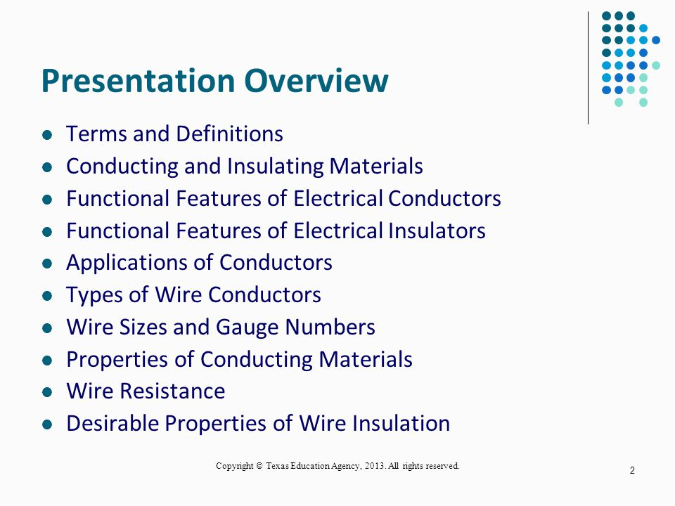 Types Of Electrical Conductors : Types of electrical conductors ppt images