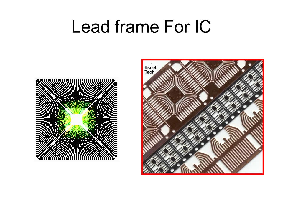 Lead frame For IC