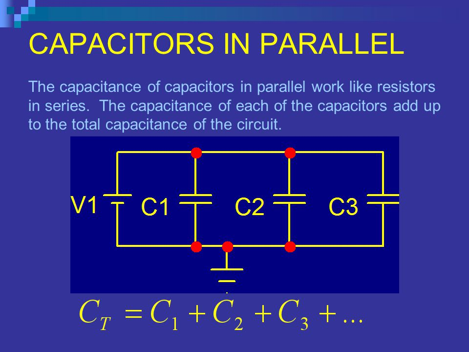Electronics Technology Capacitance Ppt Video Online Download