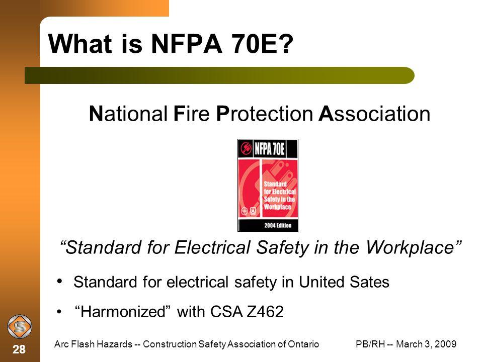 Arc Flash Hazards Construction Safety Association of Ontario - ppt ...