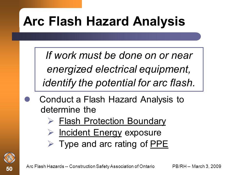arc flash hazards construction safety association of With arc flash hazard analysis