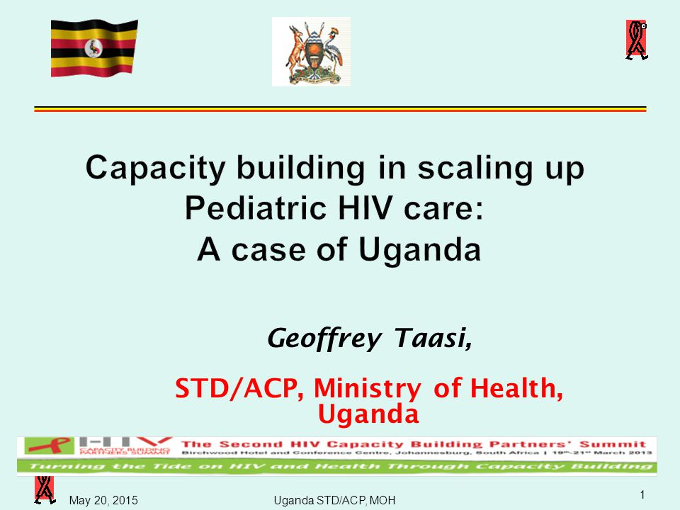 Capacity building in scaling up Pediatric HIV care: A case of Uganda