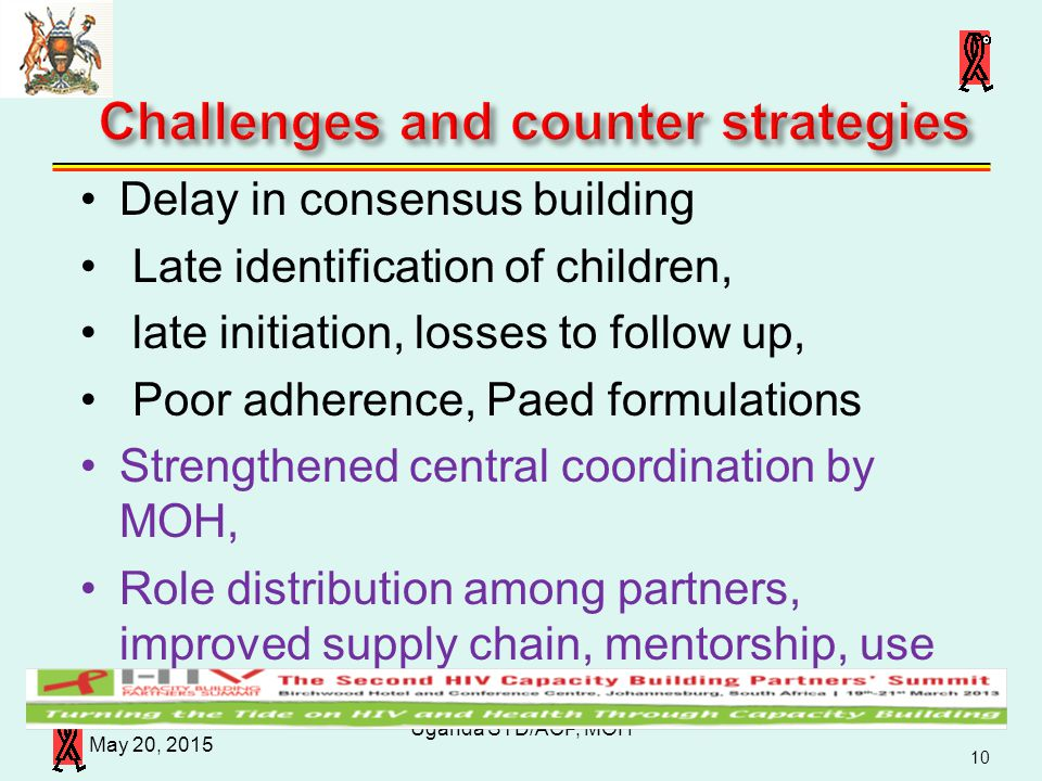 Challenges and counter strategies